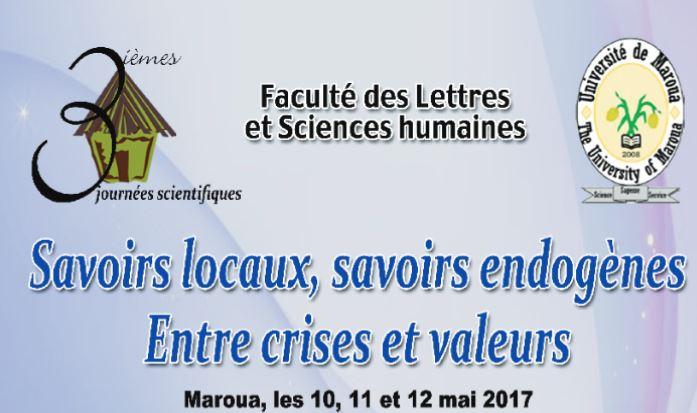 Affiche journées scientifiques